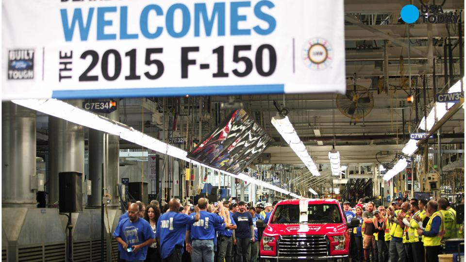 Ford trucks lead small sales gain in November
