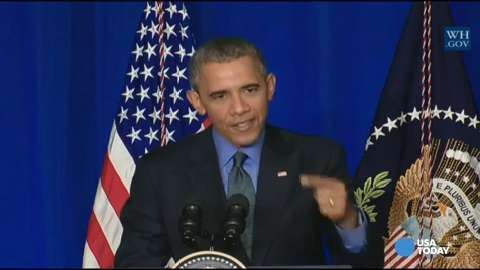 Obama: Climate change 'spans political parties'