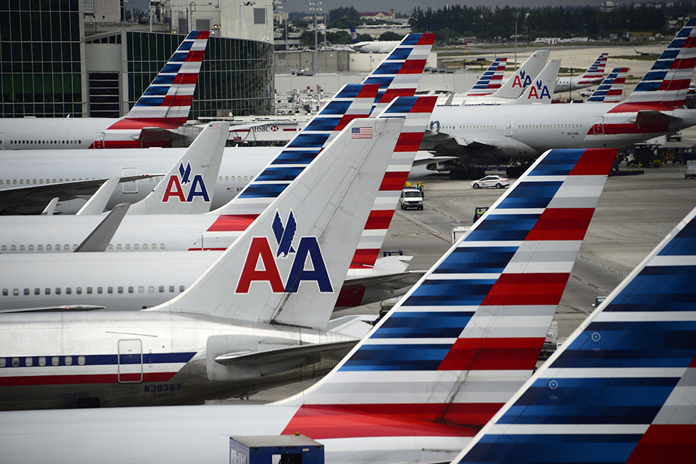 American Airlines salutes their heritage