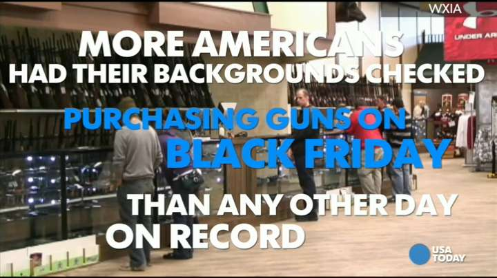 Black Friday breaks gun background check records