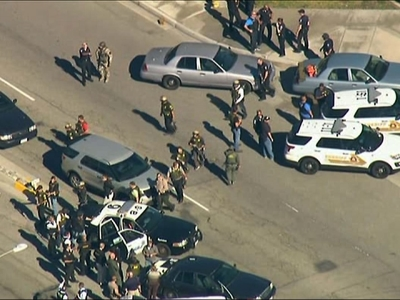San Bernardino Police Chief names shooting suspects