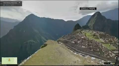 Google Maps goes to legendary 'lost city'
