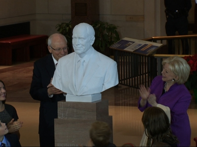 Former VP Cheney Honored With Bust