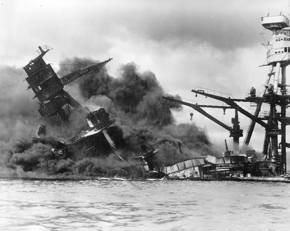 The attack on Pearl Harbor, a day never to be forgotten