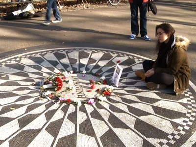 Fans Gather To Remember John Lennon