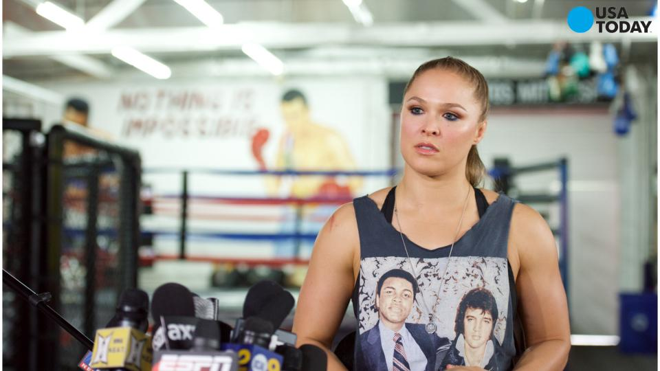 Ronda Rousey having hard time eating after loss to Holly Holm