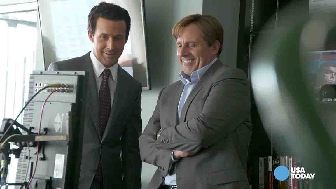 Carell: Ryan Gosling looks 'creepy' in 'The Big Short'