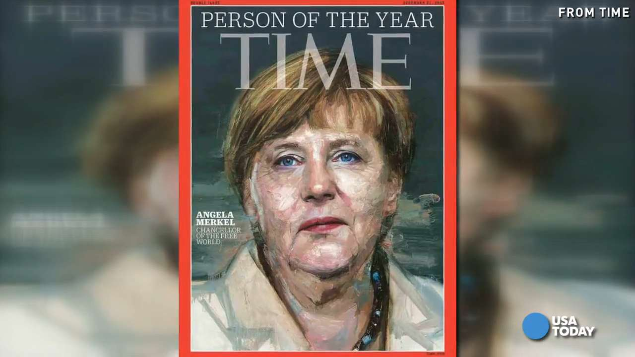 Angela Merkel named 'Time' Person of the Year