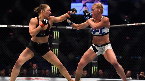 Ronda Rousey-Holly Holm rematch reportedly set for July