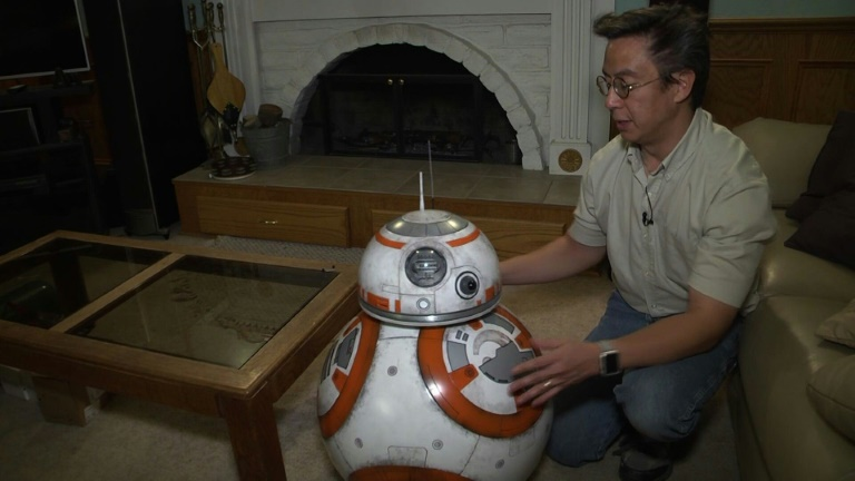 'Star Wars' fan brings droids to life