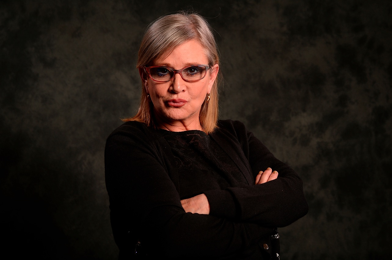 Carrie Fisher answers a 'Star Wars' fan's question