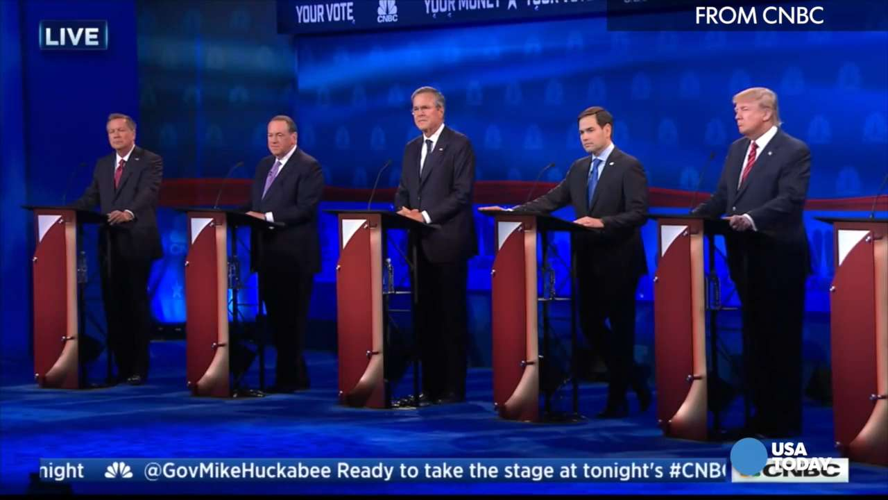 6 things to know about the GOP debate