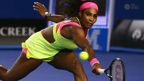 Serena Williams won three Grand Slam titles this year and went 53-3.