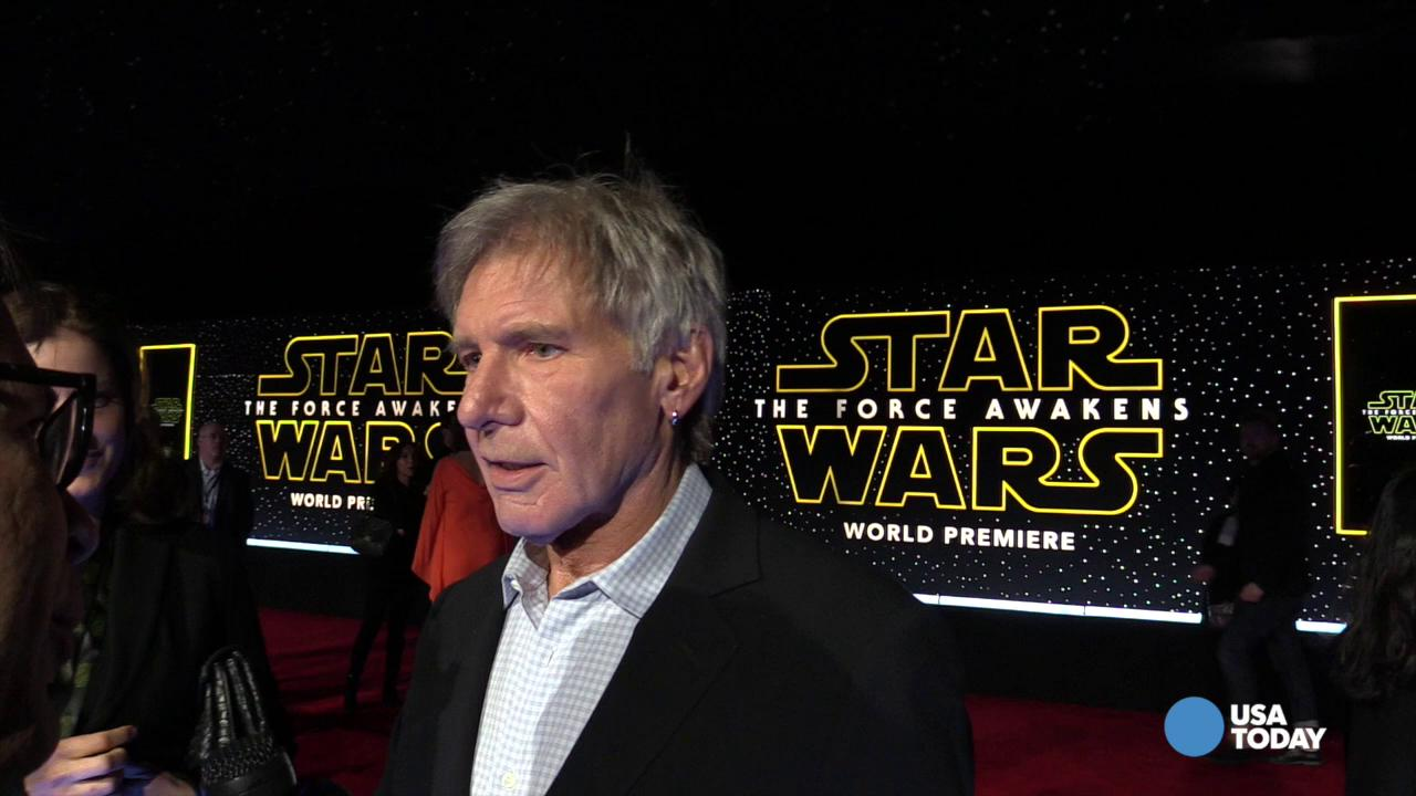 Harrison Ford gives USA TODAY Star Wars spoiler