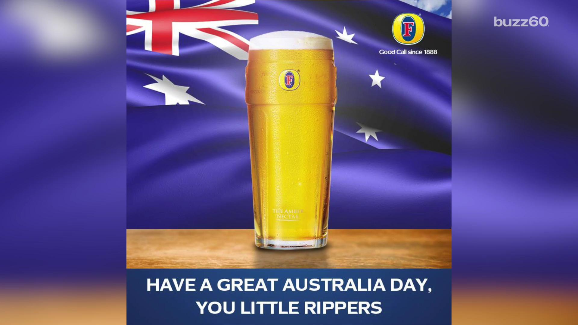 Guy sues beer company for not being 'Australian'