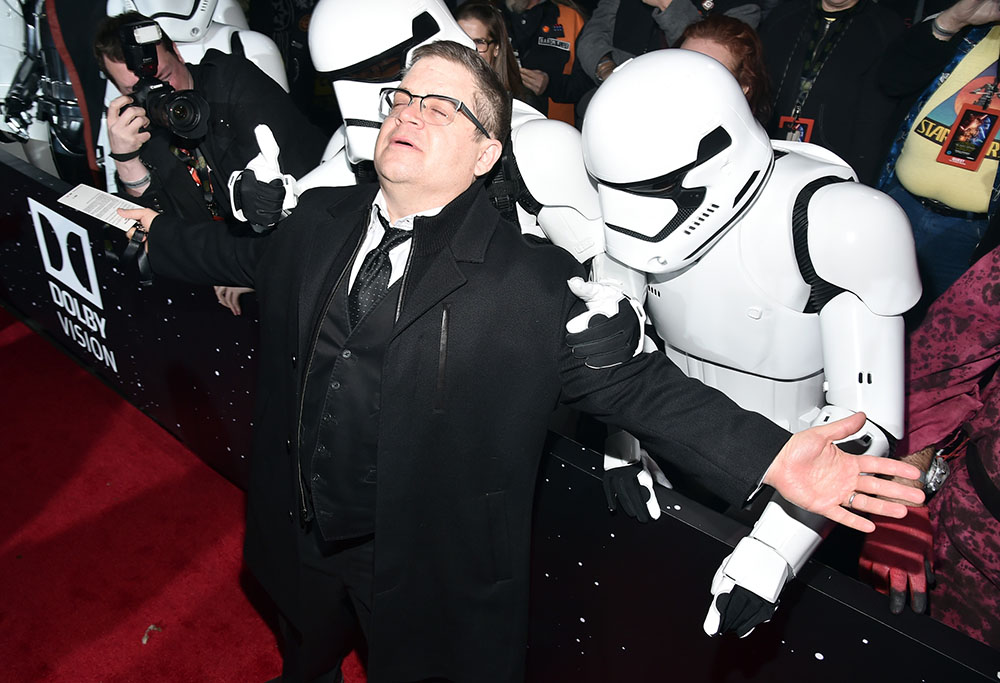 "Stars reaction to ""The Force Awakens"" red carpet madness"