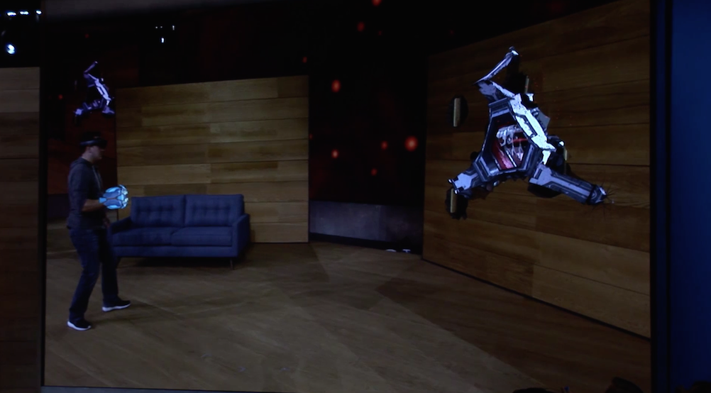 Ed Baig:  Trying out Microsoft's HoloLens