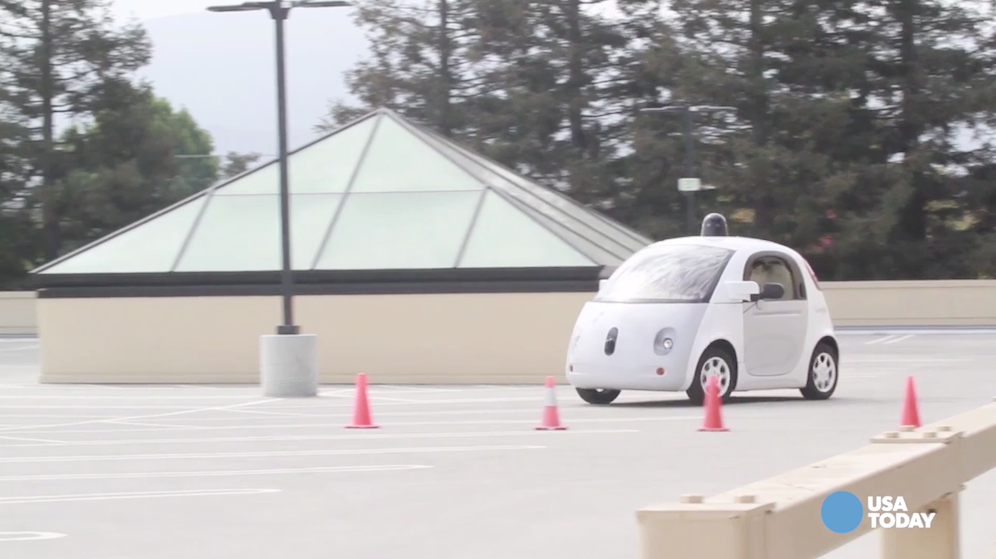 How business changed in 2015: Cars got on the road to driving themselves last year