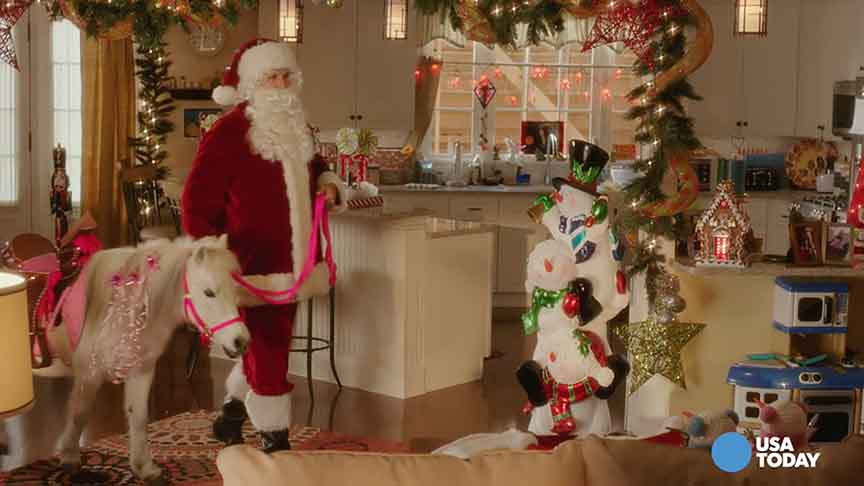 Do 'Daddy's Home' stars' kids still believe in Santa?