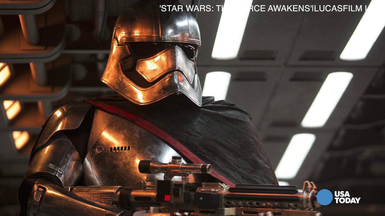 Gwendoline Christie on playing 'Captain Phasma'