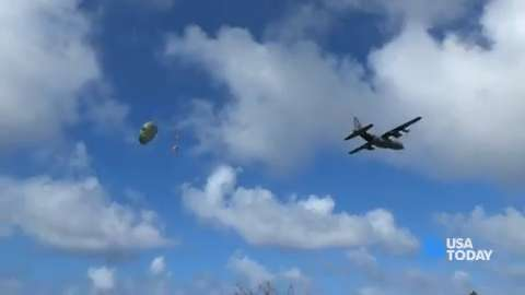 Air Force brings unlikely Christmas to remote islands