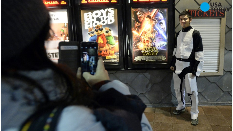 The Force Awakens A Massive Box Office Audience