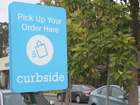 Curbside app lets you shop from your car