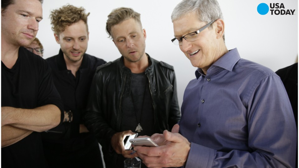 Apple CEO backs use of encryption
