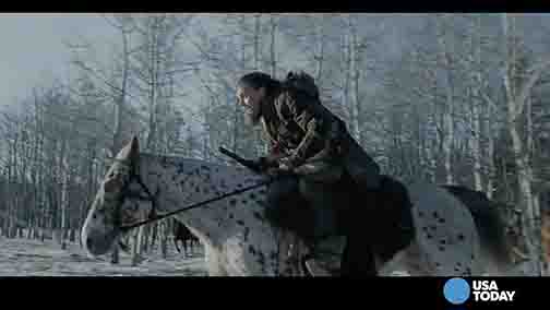 DiCaprio: 'Revenant' is an 'amazing story'