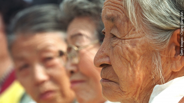 Japan to give $8.3 million to former South Korean 'comfort women'