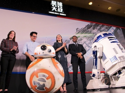 Cast of 'Star Wars' Excited to Be in China