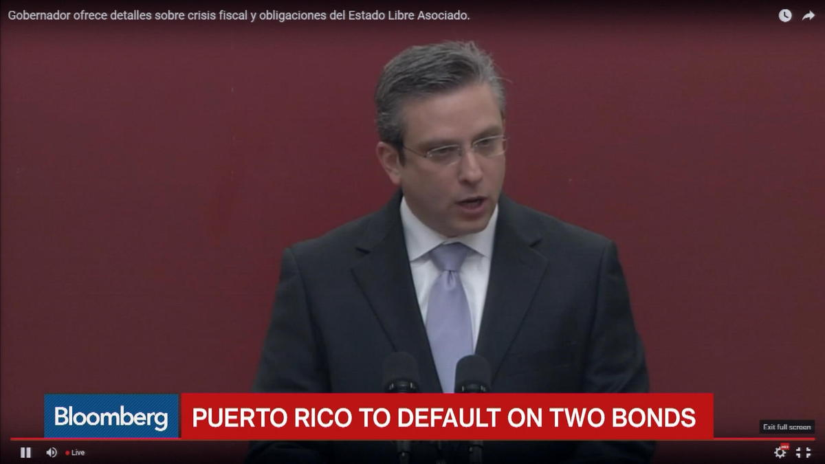 Puerto Rico to default on $37M in bond payments