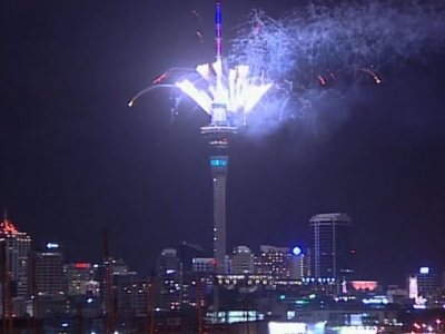 Auckland is first major city to celebrate 2016