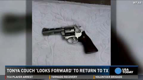 Gun found in Couches' Mexico hotel room