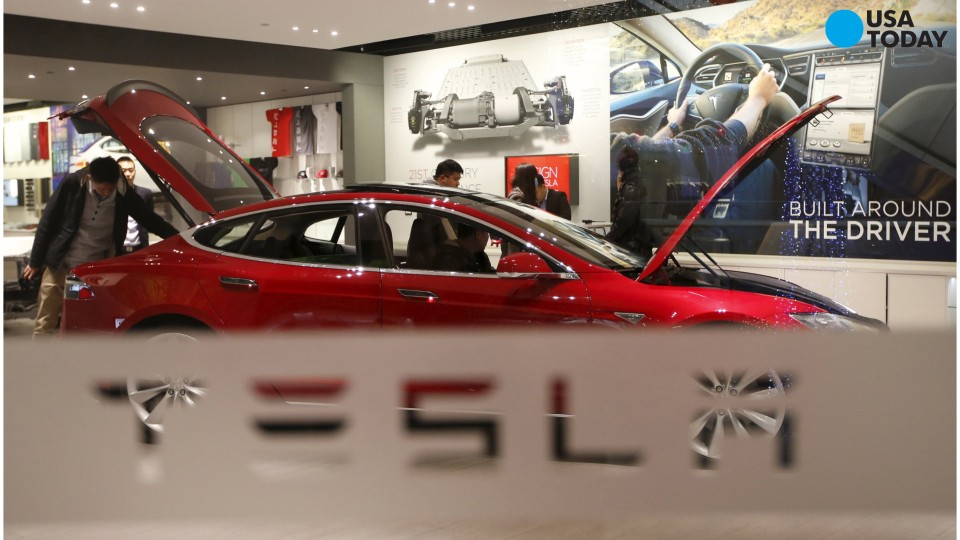 Tesla's electric car production breaks 50,000 mark