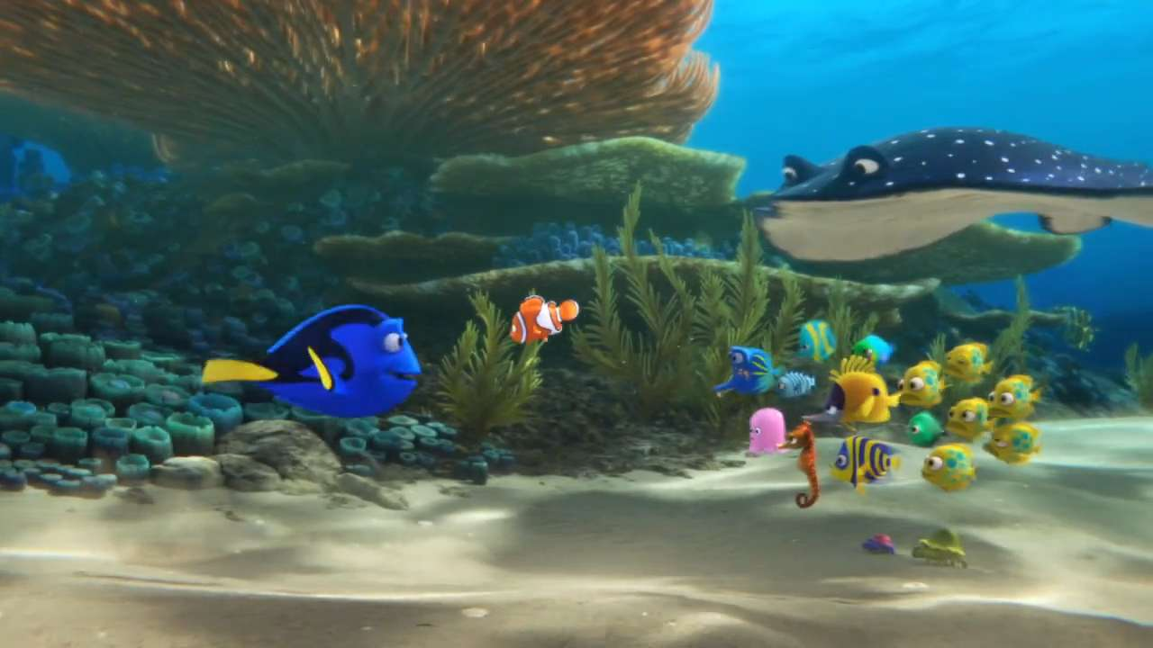 Baby dory is just one of the secret stars of 39 finding dory 39 for Dory fish movie