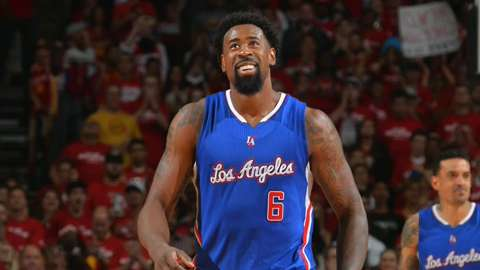 Clippers' DeAndre Jordan has history in sights