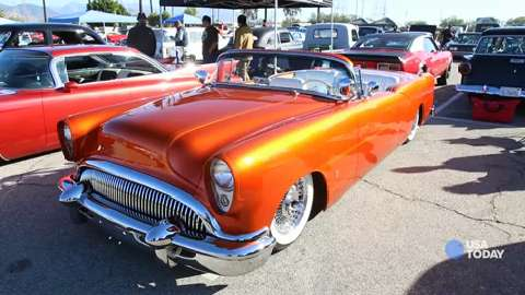 USA TODAY's Chris Woodyard talks to Brent Rothweiler about his custom 1954 Buick convertible.