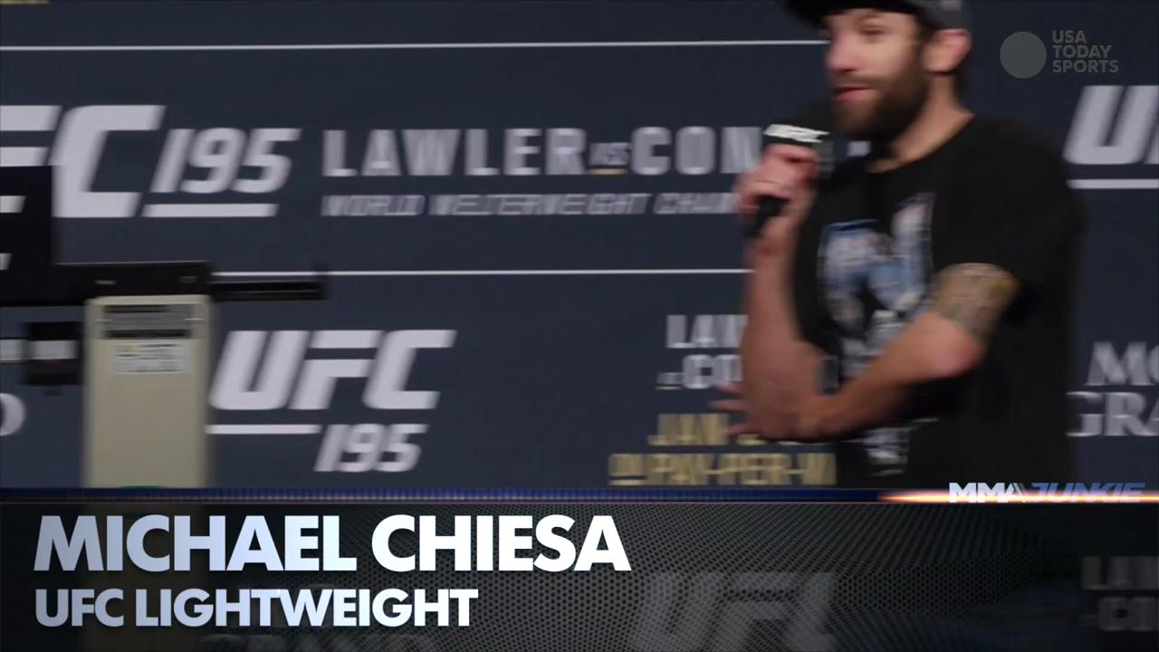 Submission artists Rose Namajunas and Michael Chiesa on why a submission is better than a KO