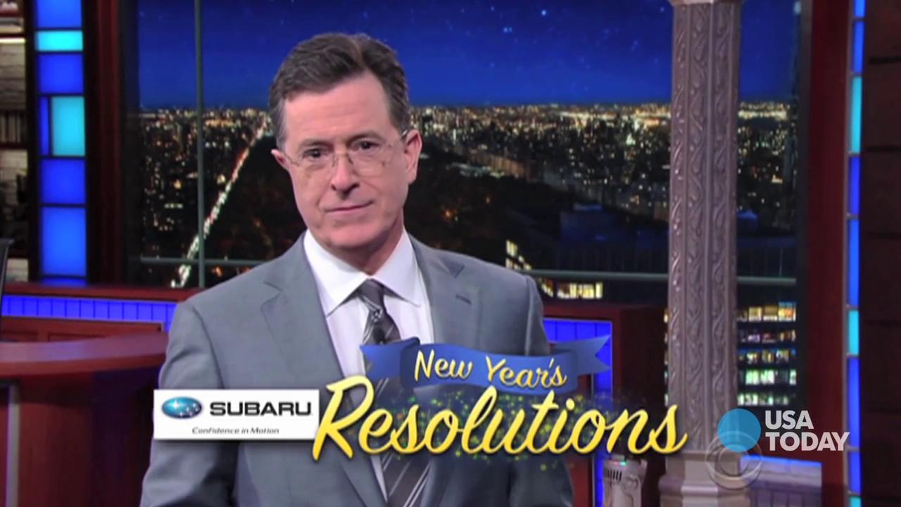 Watch our favorite late-night jokes about New Year's resolutions, then vote for yours at opinion.usatoday.com.
