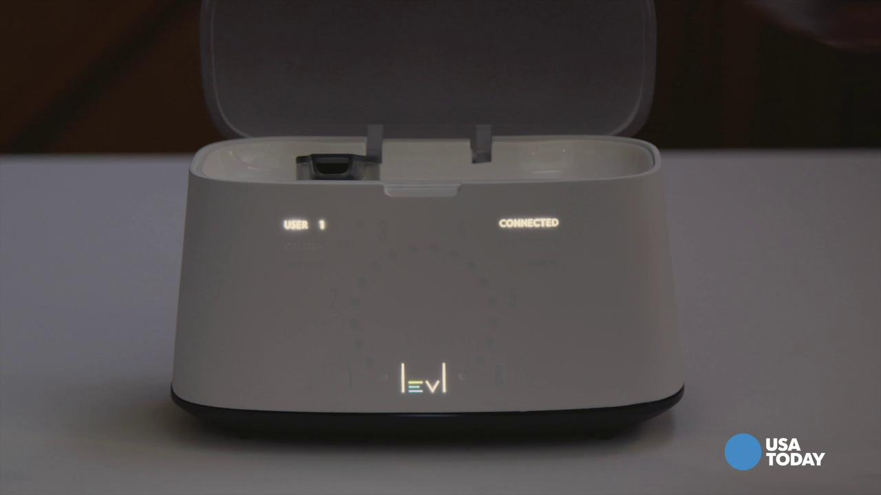 LEVL breathalyzer detects if you're burning body fat