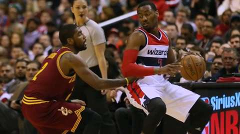 John Wall, Kyrie Irving face off on Wednesday
