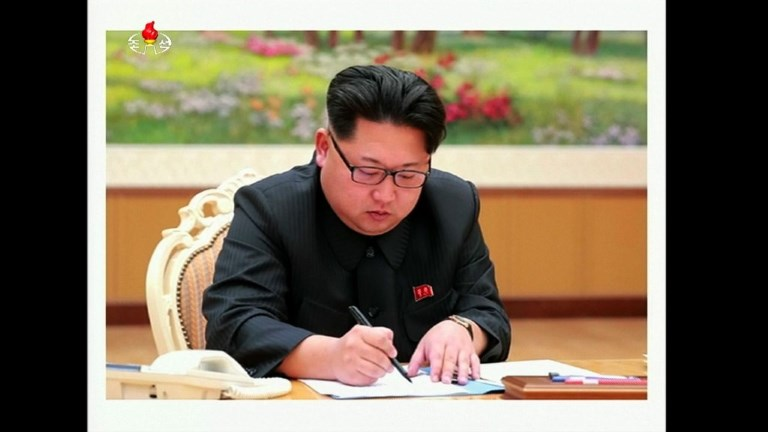 N. Korea leader touts 'thrilling sound' of H-bomb in test order