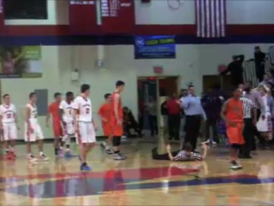 Raw: High School Coach Apparently Head-Butts Ref