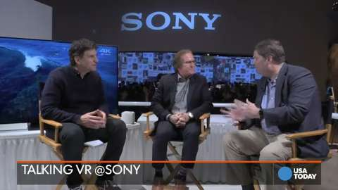 Sony's take on virtual reality