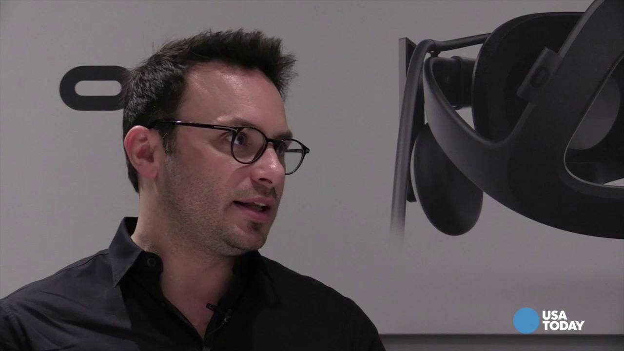Brendan Iribe, Oculus VR, Inc. co-founder, tells USA TODAY's Ed Baig where he would like to see the future of virtual reality going.