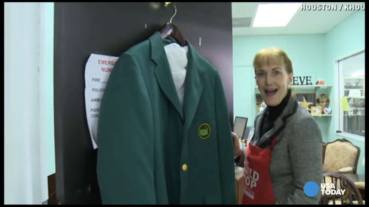 Masters jacket from 1960s found in thrift store
