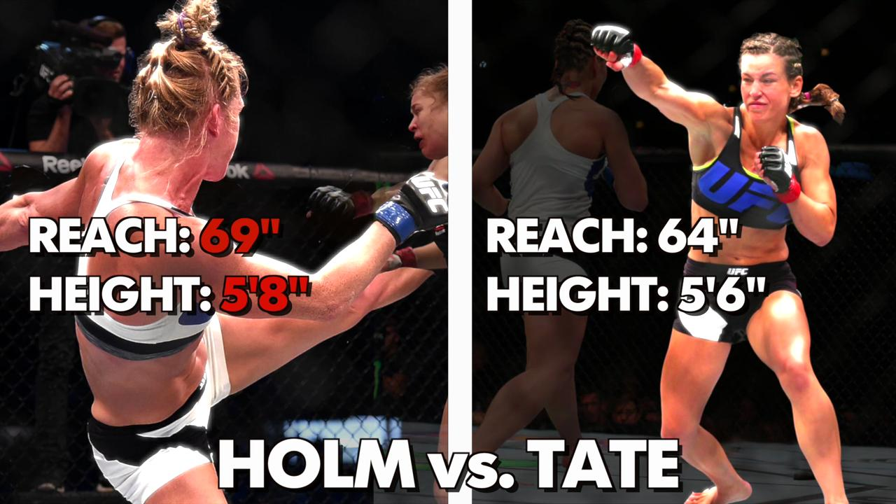 Holly Holm versus Miesha Tate announced for UFC 197 in Las Vegas