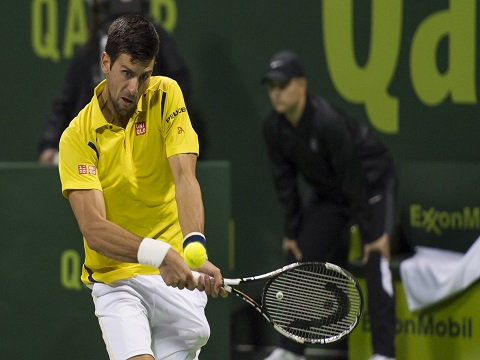 Novak Djokovic outplays Rafael Nadal in Qatar Open.