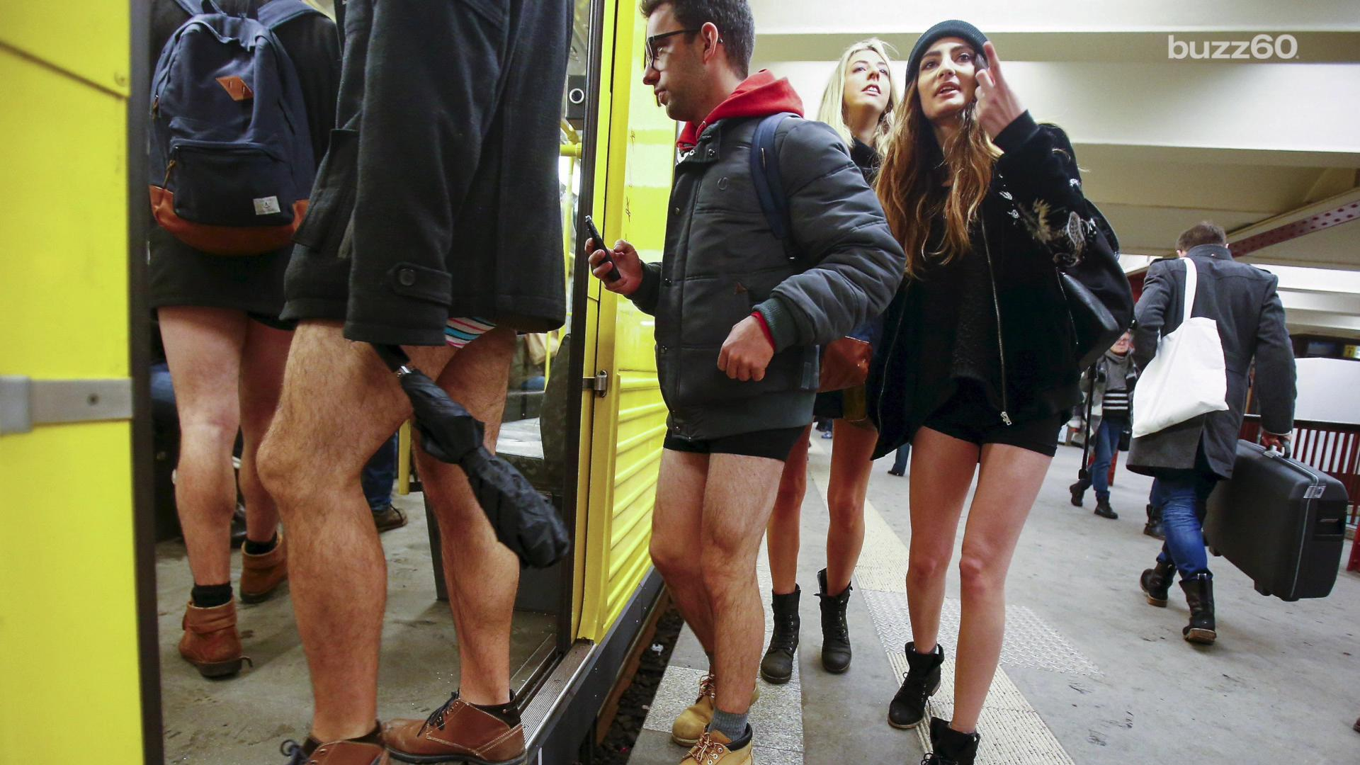 The No Pants Subway Ride spreads across the globe to thousands